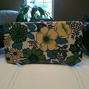 Slimline Floral print wallet